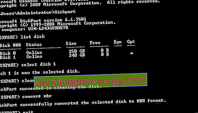 gpt disk windows